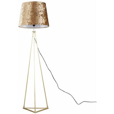 Bermuda Floor Lamp in Gold