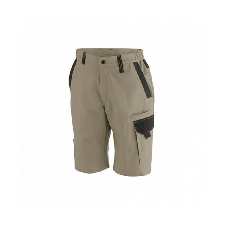 Bermuda OUT-SUM beige MOLINEL (44) - Taille : 44