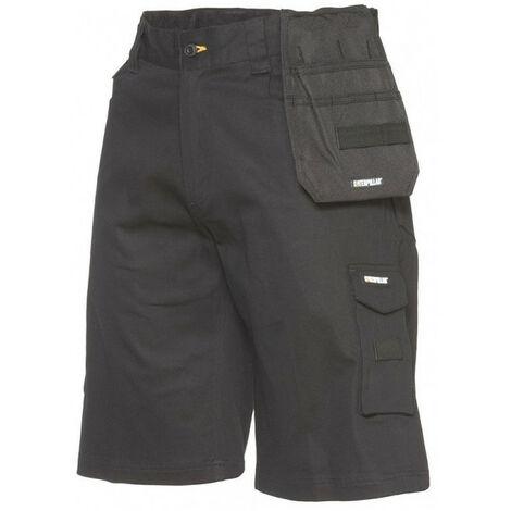 Bermuda Short Custom flex noir CATERPILLAR - plusieurs modèles disponibles