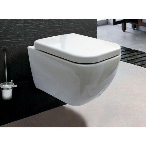 BERNSTEIN Luxus Wand-Hänge WC Toilette Softclose CH101