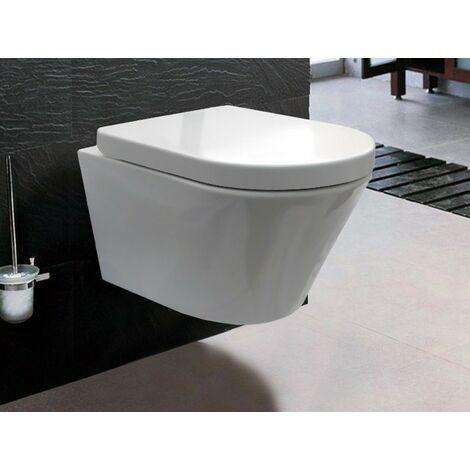"""main image of """"BERNSTEIN Luxus-Wand-Hänge-WC Toilette Softclose CH1088"""""""