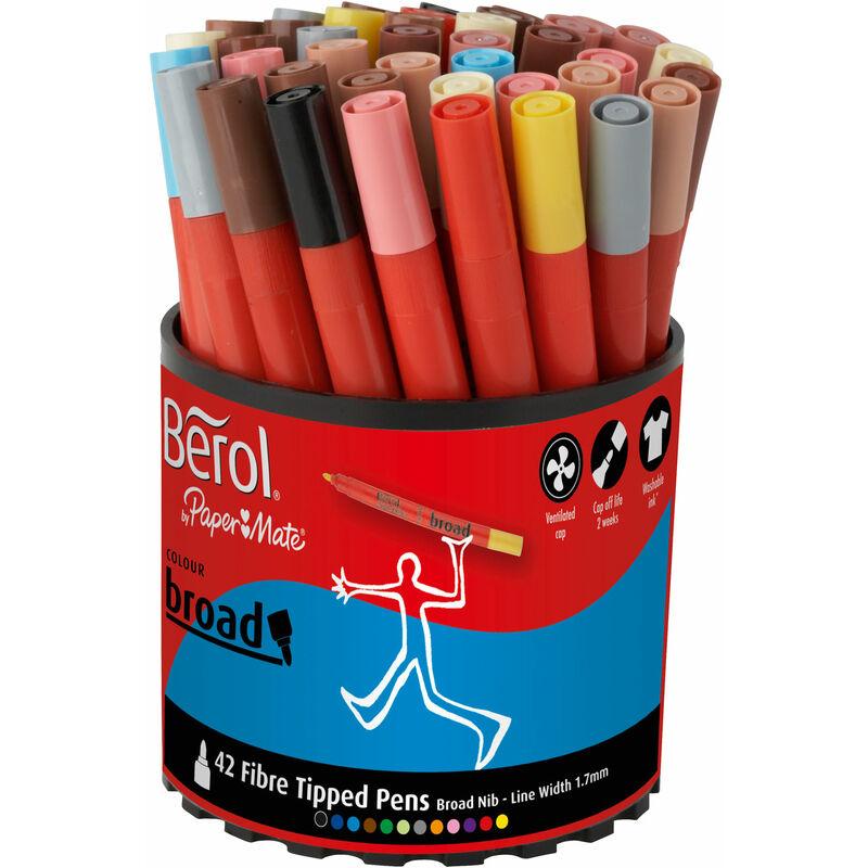 Image of Berol Colourbroad Asst. Display x42