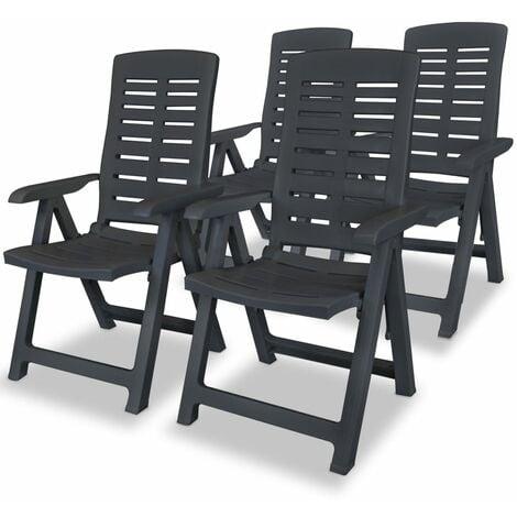 Berryman Reclining Garden Chair by Dakota Fields - Grey