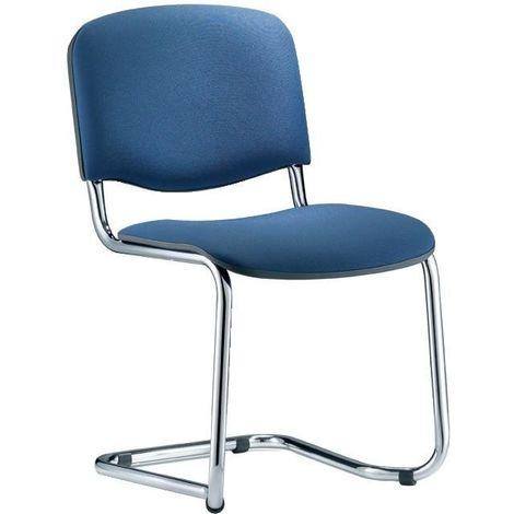 Bes.-silla ISO Swing Chrom/azul