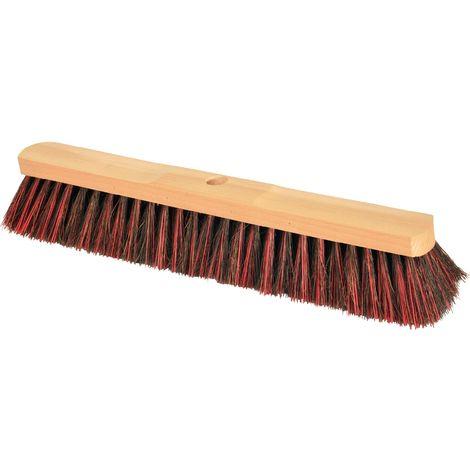 Besen Arenga/Elaston L.400mm Sattelholz natur mit Stielloch