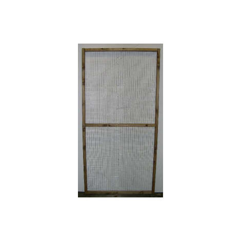 Bespoke Aviary Panels and Runs - call or email for quote - made to measure for birds, chicken, duck, poultry, cat, dog runs from Buttercup Farm – Treated timber, choice of galvanised wire mesh size