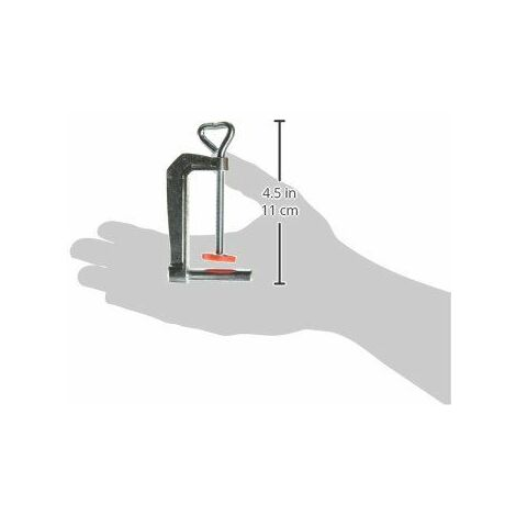 Bessey Collier de serrage pour table TK6 Diamètre 8 mm Ouverture 60 mm