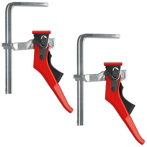 Bessey Guide Rail Plunge Saw All Steel Table Lever Clamps GTRH 160/60 BE104924