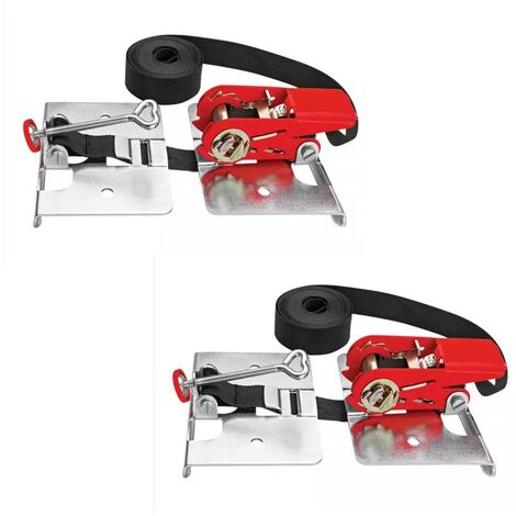 Bessey Hardwood Laminate Parquet Flooring Strap Clamps SVH400 Twin Pack