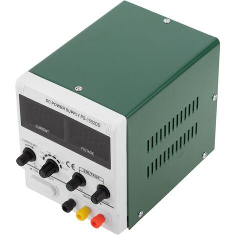 Best - Fuente de alimentación DC regulada 0-15V modelo BEST 1502DD