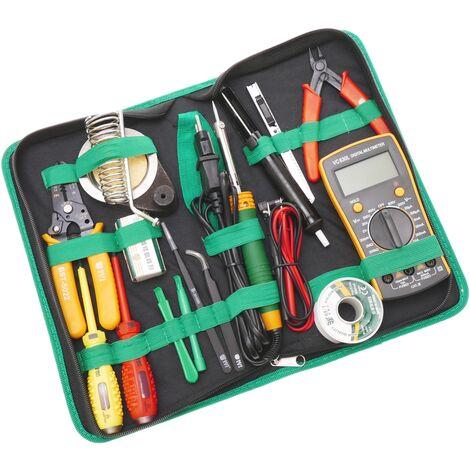 Best - Kit de herramientas para dispositivos electrónicos de 16 piezas modelo BEST-113