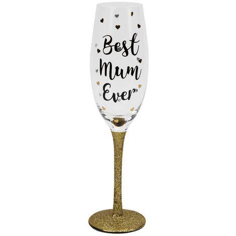 Best Mum Ever Prosecco Glass
