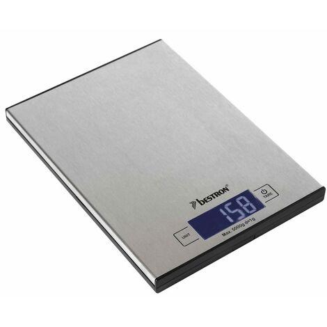 Bestron Electric Kitchen Scales AKS1000S Inox 5 kg