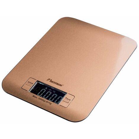 Bestron Electric Kitchen Scales AKS700CO 5 kg Copper