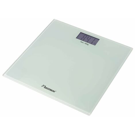 Bestron Personal Scales Elec ABS2000W White