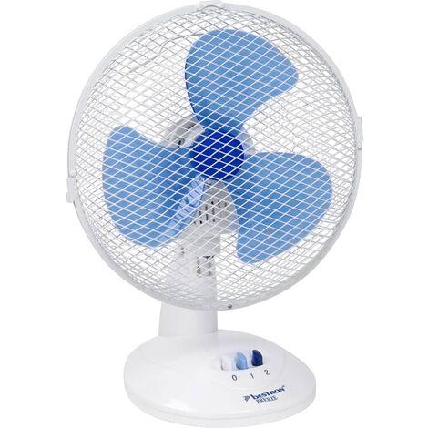 Bestron Ventilateur de bureau 27 cm Blanc DDF27W