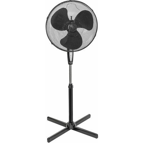 ventilateur sur pied 45cm 45w noir avec télécommande - asv45zr - bestron