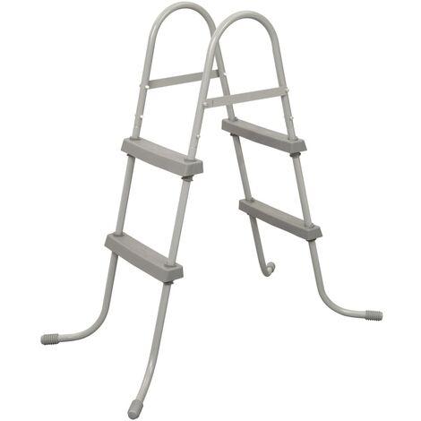 """main image of """"Bestway 2-Step Pool Ladder Flowclear 84 cm - Grey"""""""
