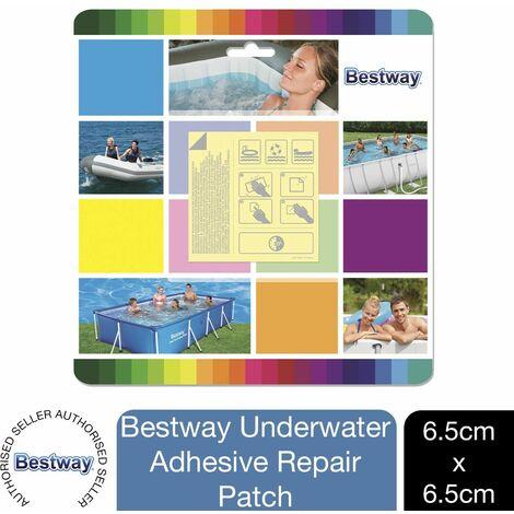 "main image of ""Bestway 2.5"" x 2.5""/6.5cm x 6.5cm Self Adhesive Underwater Adhesive Repair Patch"""