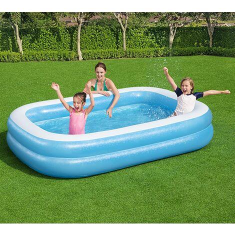 "main image of ""Bestway 2.62m x 1.75m x 51cm Family Paddling Pool"""