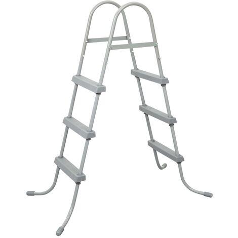 Bestway 3-Stufen-Sicherheitsleiter Flowclear 107 cm 58330