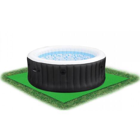 Bestway 32 x 32-inch Green Pool Floor Protector