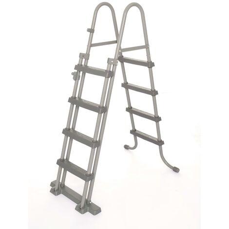 Bestway 4-Stufen-Sicherheitsleiter Flowclear 122 cm 58331