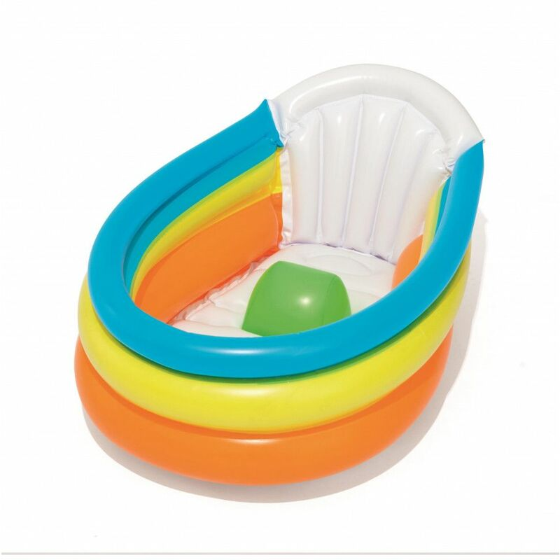 Ac-déco - Baignoire gonflable pour bébé - Up In & Over - L 76 cm x l 48 cm x H 33 cm - Livraison gratuite