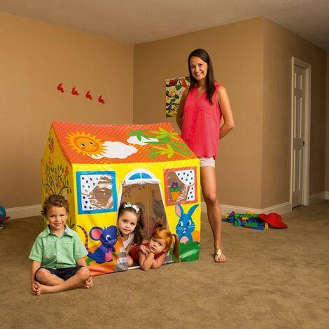 Bestway 52007 Maisonnette Jeux pour enfants pour jardin et intérieur maison