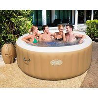 Bestway 54129 Whirlpool Lay Z Spa Palm Springs mit Heizung Massage 196x71 cm