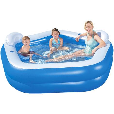 Bestway 54153 Family Pool Fun 213 x 206 x 69 cm 9866