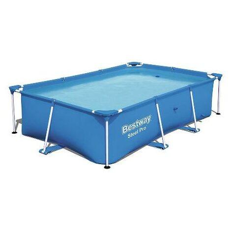 "main image of ""Bestway 56405 - piscina desmontable tubular infantil steel pro 400x211x81cm"""