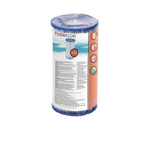 Bestway 58012 Filterkartusche Gr.III, Antimikrobielle 9901