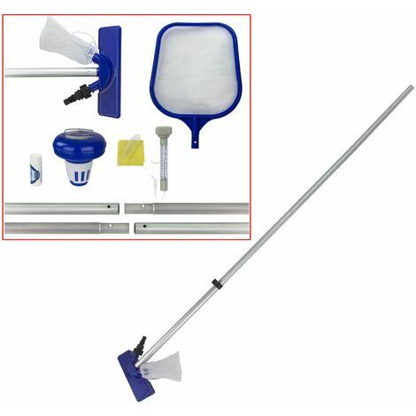 Bestway 58195 Flowclear Zubehörset zur Poolpflege inklusive Venturisauger Zubehör 9894