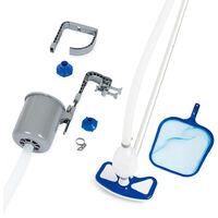 Bestway 58237 Pool Cleaning Equipment Pool Vacuum and Skimmer