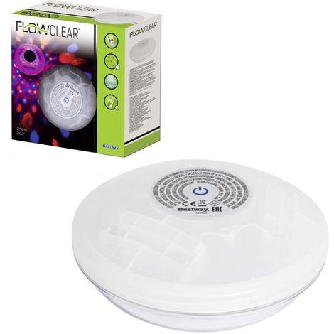 Bestway 58419 Flowclear Schwimmende batteriebetriebene LED-Poolleuchte 9897