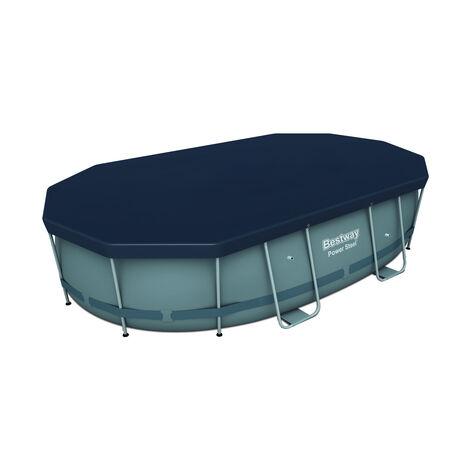 """main image of """"Bestway 58425 - cubierta invierno para piscina desmontable 427x250 cm ovalada"""""""