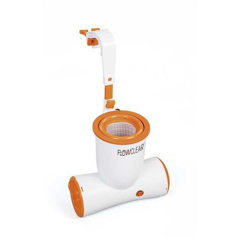 Bestway 58462 bomba de filtro de cartucho skimmer para piscina elevada Skimatic Flowclear