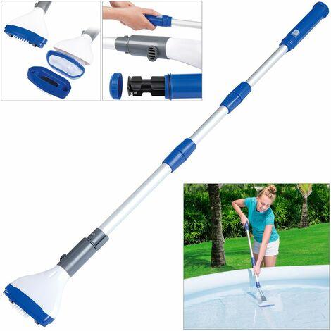Bestway - Aspirateur balai électrique de piscine et spa Aquascan, 1,5 m - Nettoyage piscine