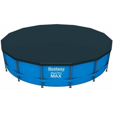 Bestway Bâche de protection pour piscine 305cm hors-sol Steel Pro ronde 58036