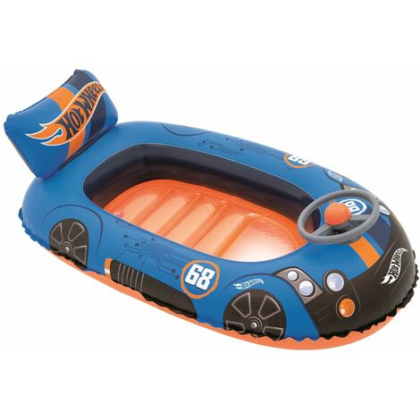Bestway Bateau Gonflable Pour Enfants Hot Wheels Speed