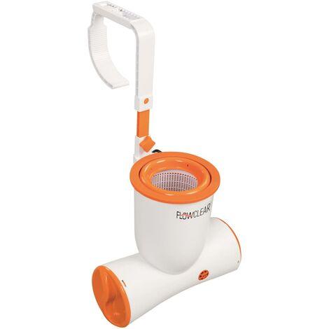 Bestway Bomba de filtro para piscina Flowclear Skimatic 2574 L/h 58462 - Blanco