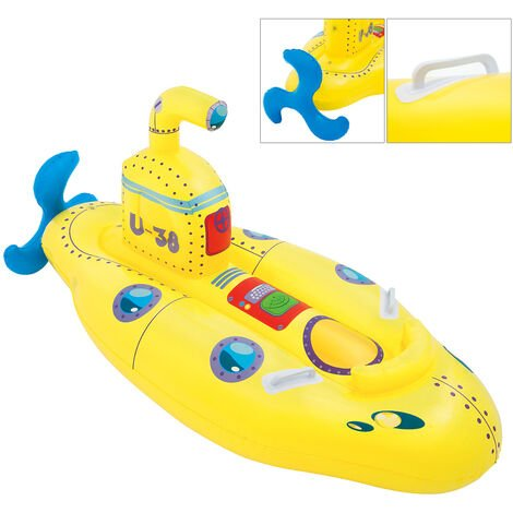 Bestway BW41098 Children's Inflatable Unsinkable Submarine Ride-On