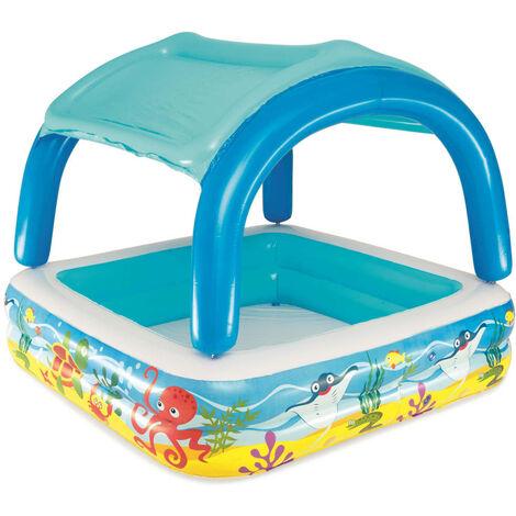 Bestway Canopy Play Pool Blue 140x140x114 cm 52192 - Blue