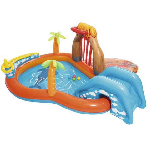 Bestway Centro de juegos Lava Lagoon 53069 - Multicolor