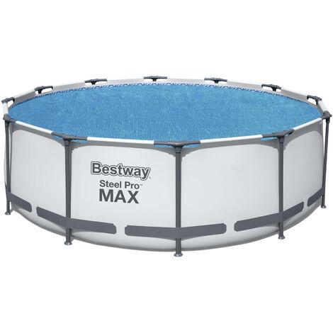 Bestway Cobertor solar para piscina Frame Pool Ø366 cm