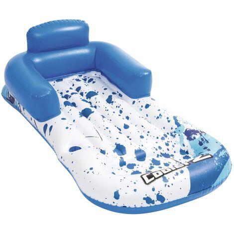 Bestway Colchoneta hinchable para piscina Hydro-Force azul 16x84 cm