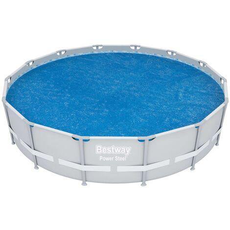 Bestway Couverture solaire de piscine Flowclear 427 cm