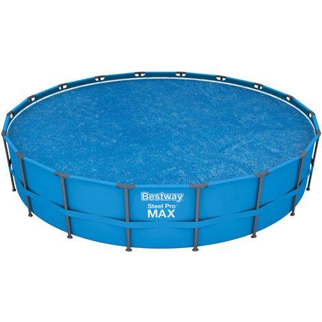 Bestway Couverture solaire de piscine Flowclear 549 cm
