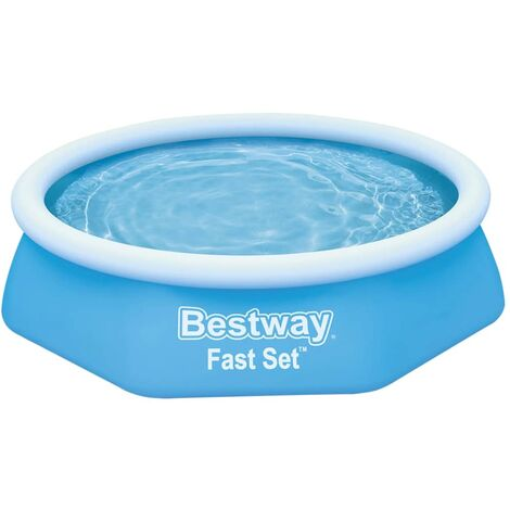 Bestway Cubierta de suelo para piscina Flowclear 274x274 cm - Azul